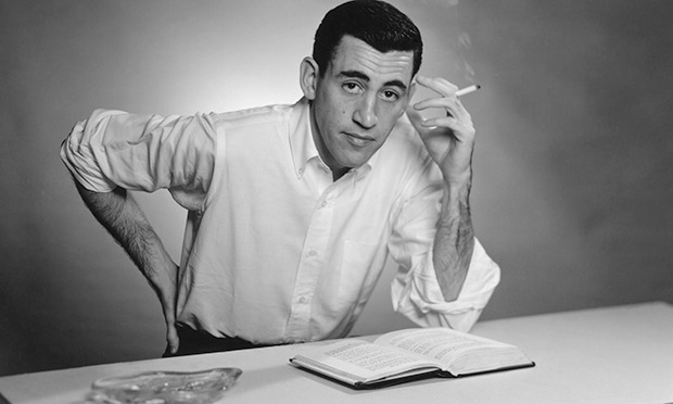 JD Salinger portrait New York 1952