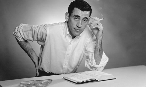JD Salinger portrait New York 1952
