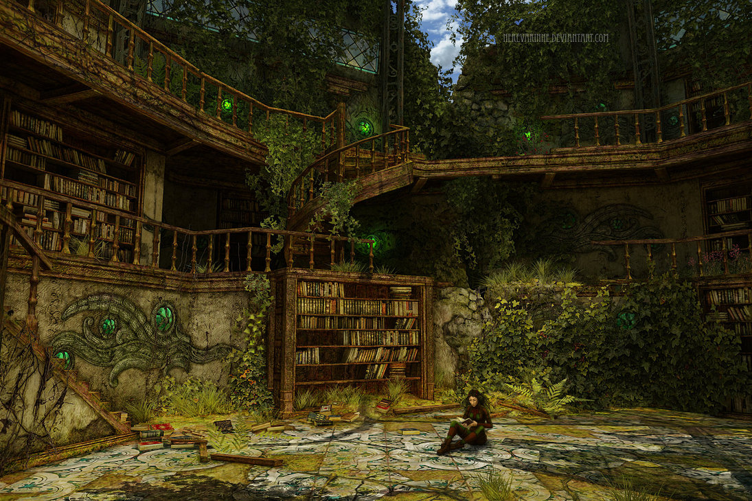 Le biblioteche più strane della letteratura