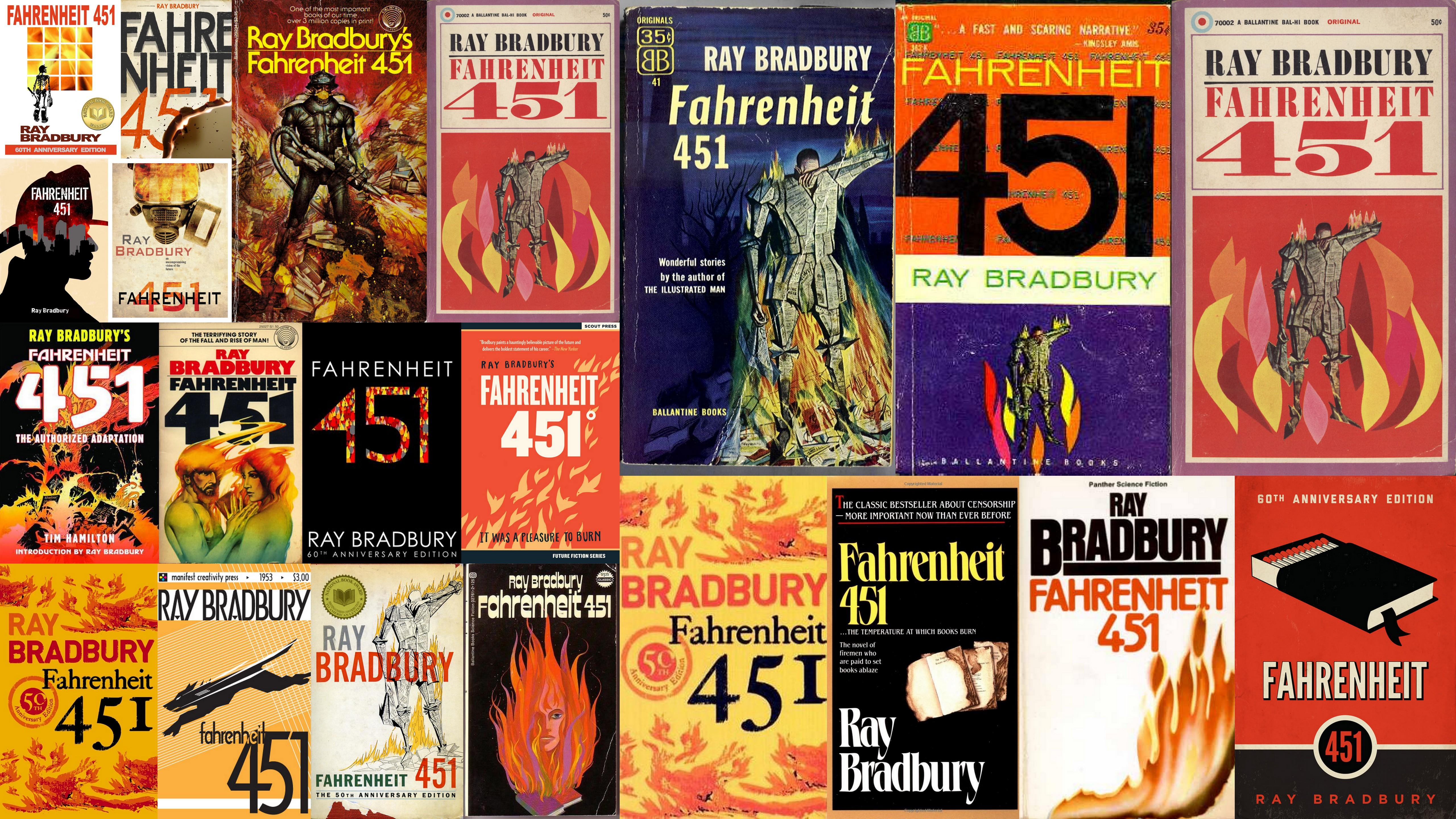 Book'in - Fahrenheit 451 de Ray Bradbury  Fahrenheit-451
